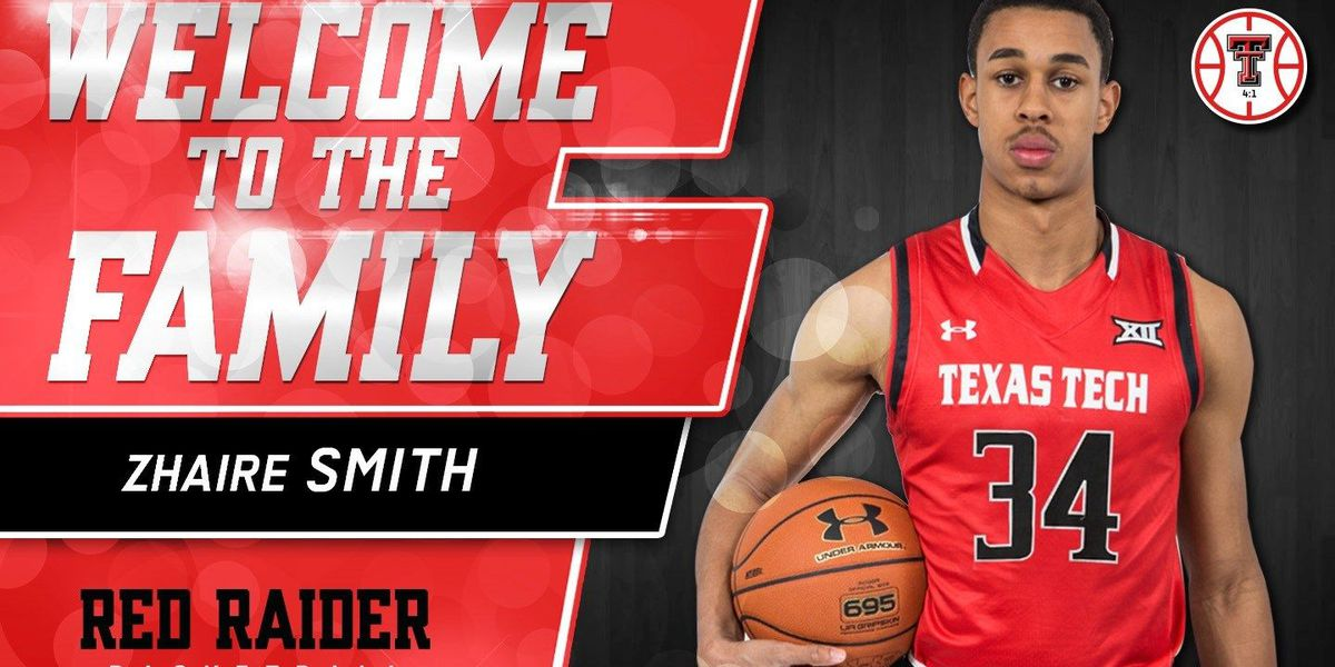 sports shoes 35cb8 92e9f Red Raider basketball signs Zhaire Smith to NLI