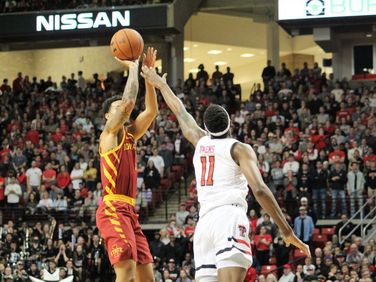No. 8 Red Raiders fall at home to Iowa State