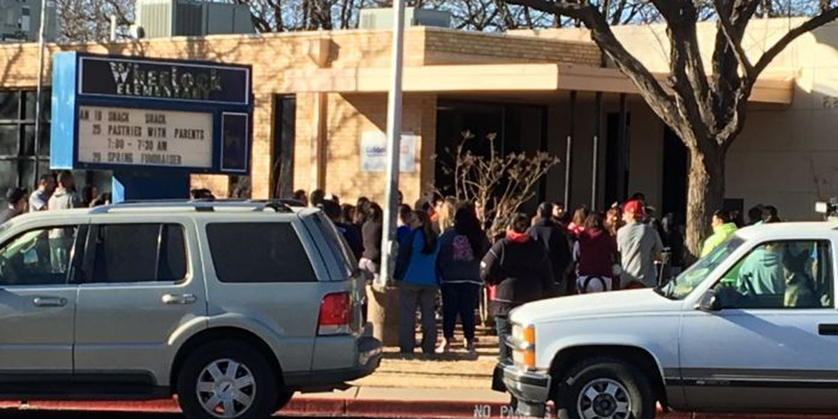 Wheelock Elementary students released after shelter in place order Wednesday afternoon