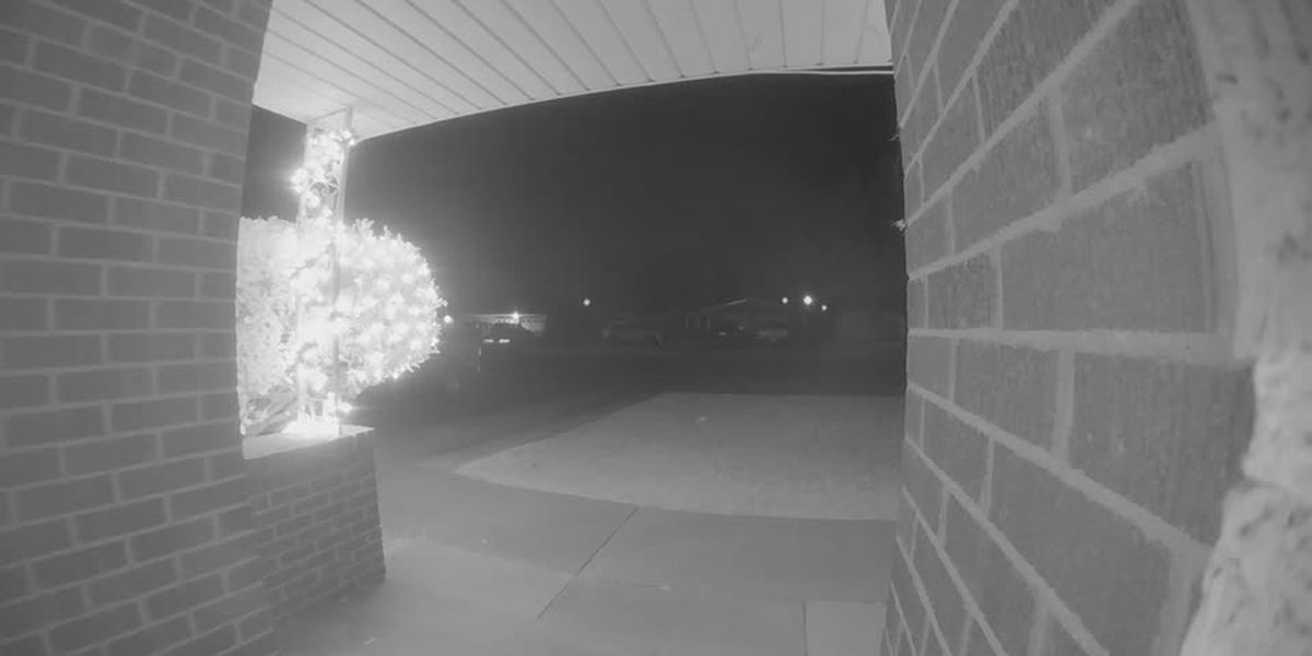 Shots Fired outside Adolph's bar audio captured on doorbell camera