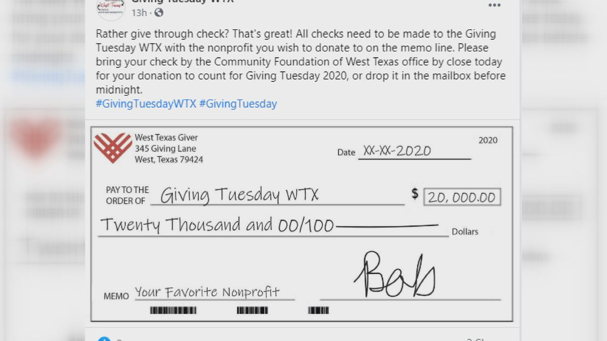 Donations still needed for Giving Tuesday
