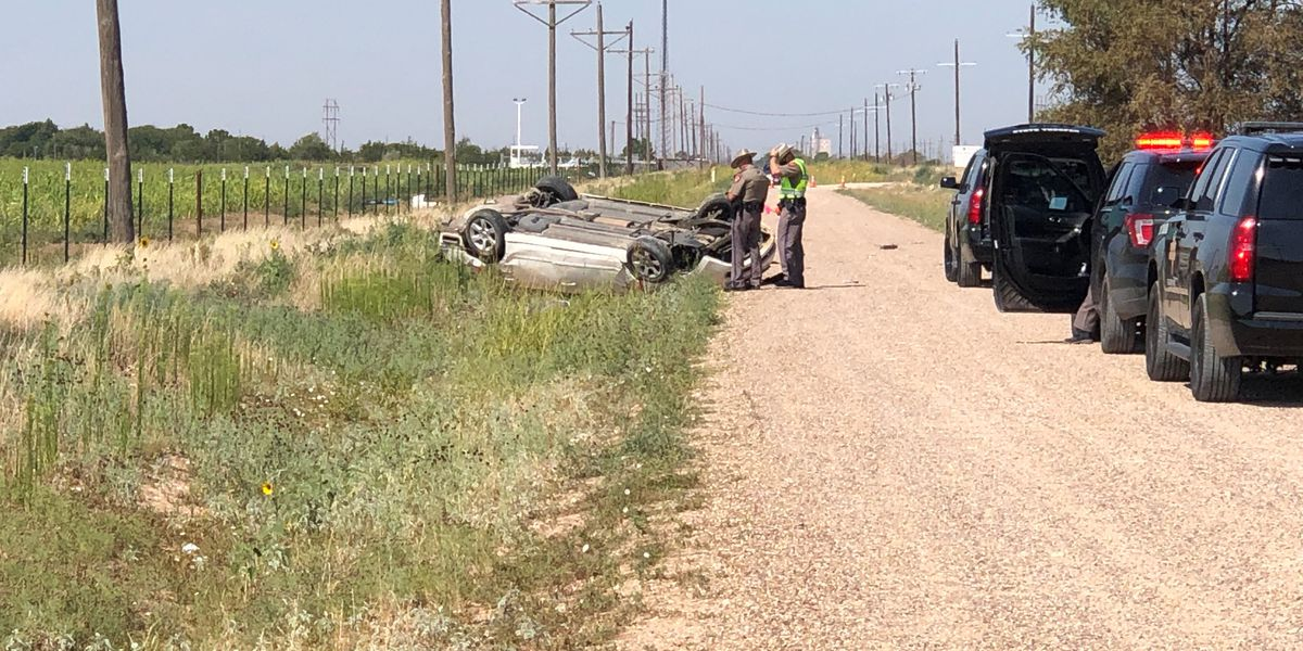 Sheriff, DPS responds to rollover in northeast Lubbock County
