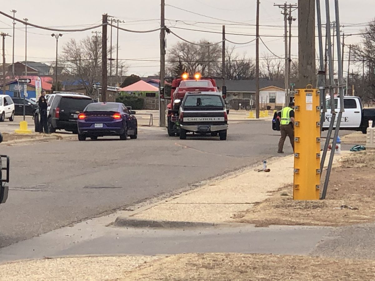 Pursuit leads to officer-involved crash at 50th St. and Ave. L