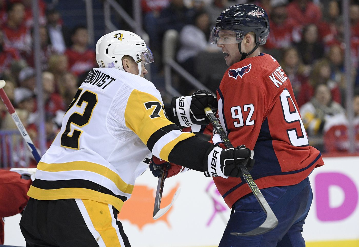 d0754c782f4 No hearing for Malkin for hit to head in Pens  loss at Caps