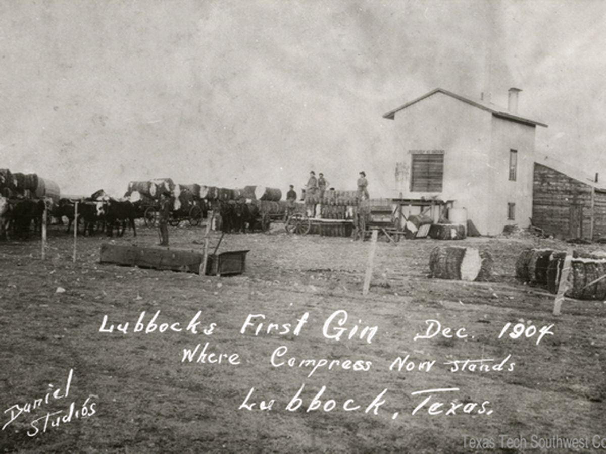 Historical marker to honor Lubbock's first cotton gin