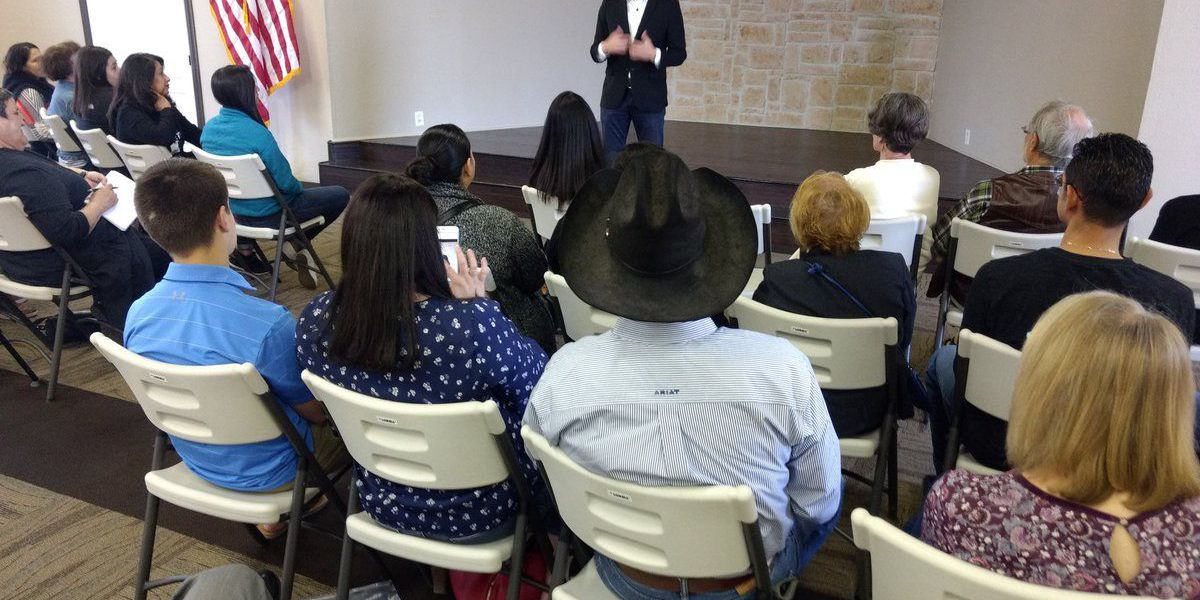 Senate candidate, Beto O'Rourke, to stop in Lubbock Sunday