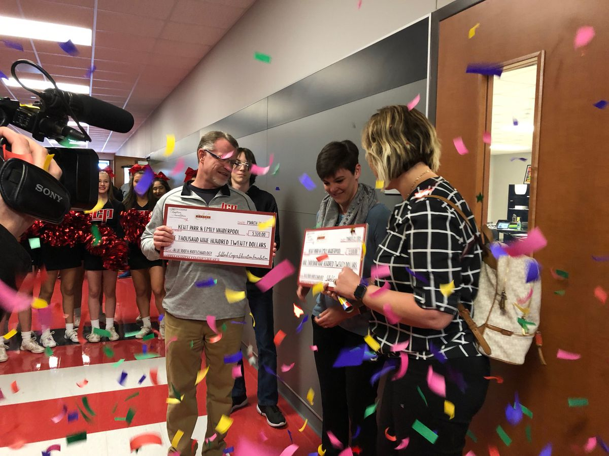Lubbock-Cooper Education Foundation surprises teachers with $105,000 in grants for classrooms