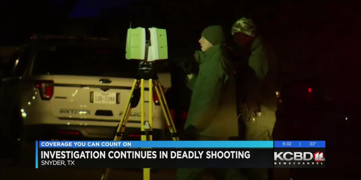 Investigation continues into deadly shooting in Snyder