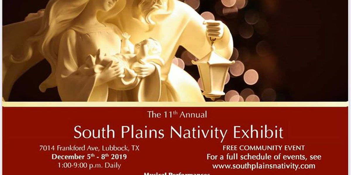 South Plains community gathers for 11th Annual Nativity Celebration