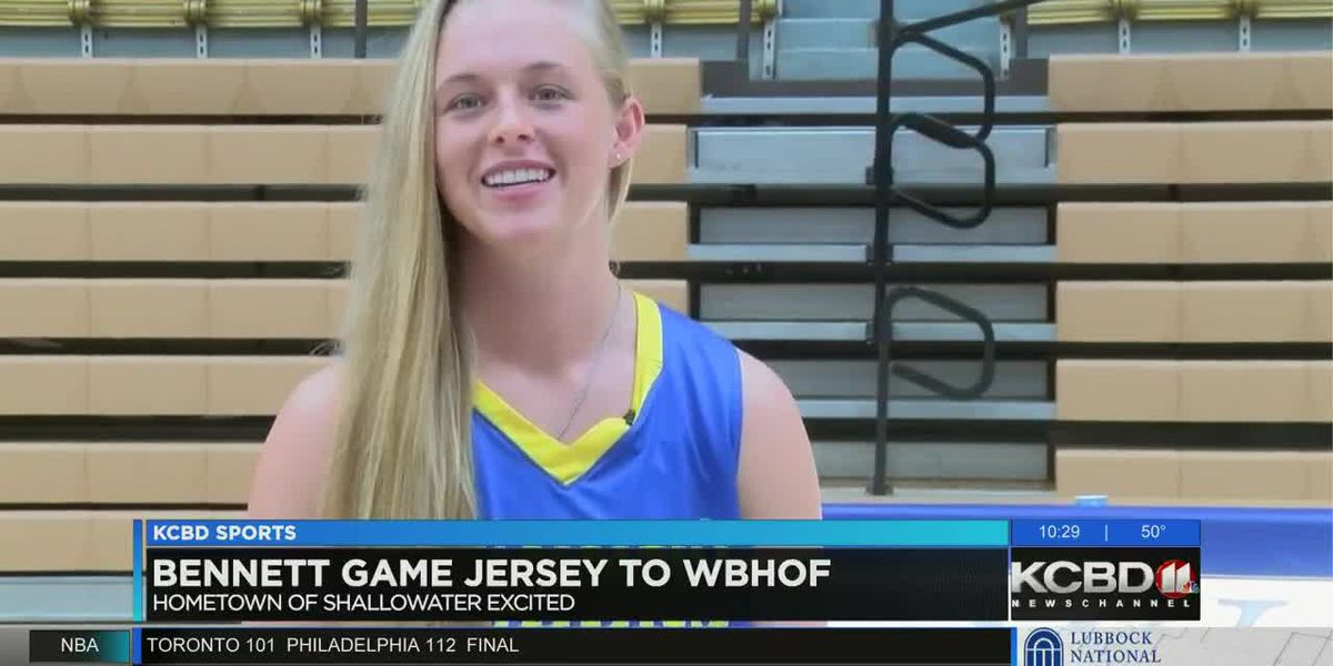Bennett game jersey to WBHOF