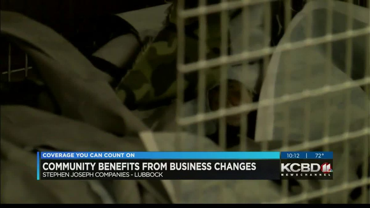 Community benefits from business changes
