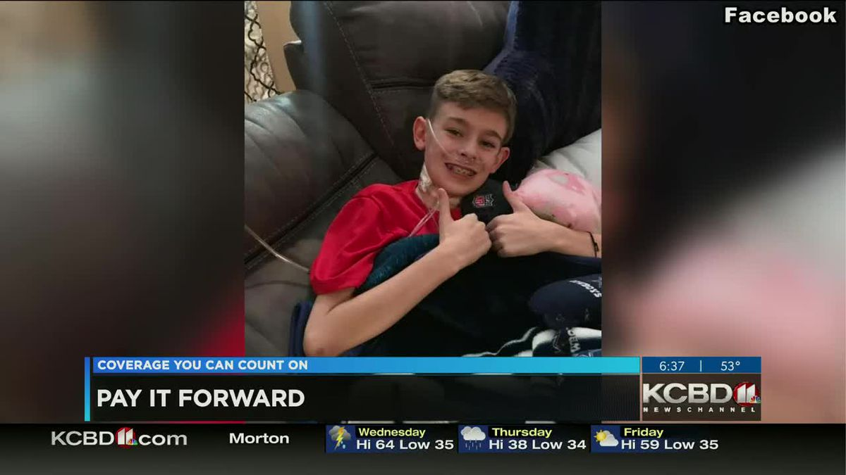 Pay It Forward: Donating to a Frenship student battling cancer