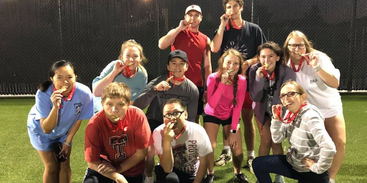Texas Tech intramural sports recognized for work with Special Olympics