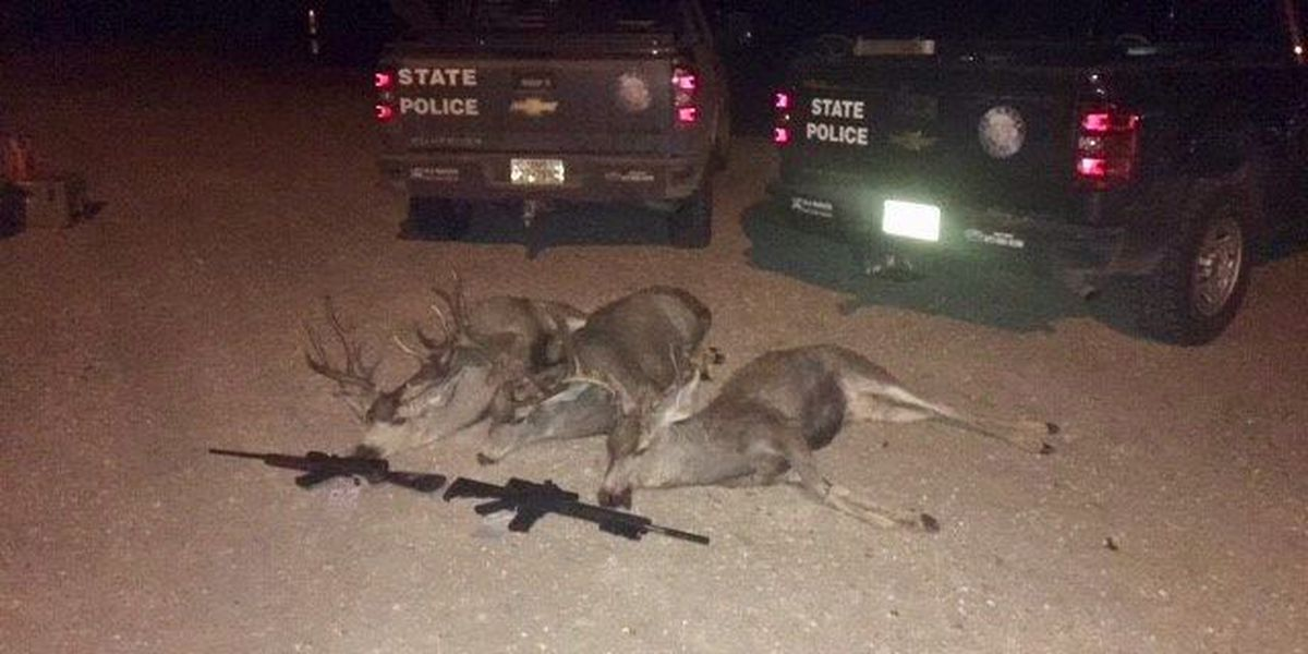 2 men accused of poaching mule deer bucks in Lynn County