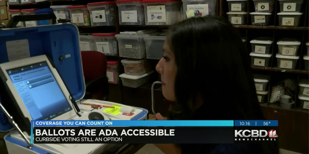 Making accommodations for voters with disabilities