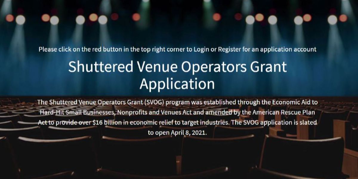 Small Business Development Center assisting hard-hit venues apply for Shuttered Venue Operators Grant