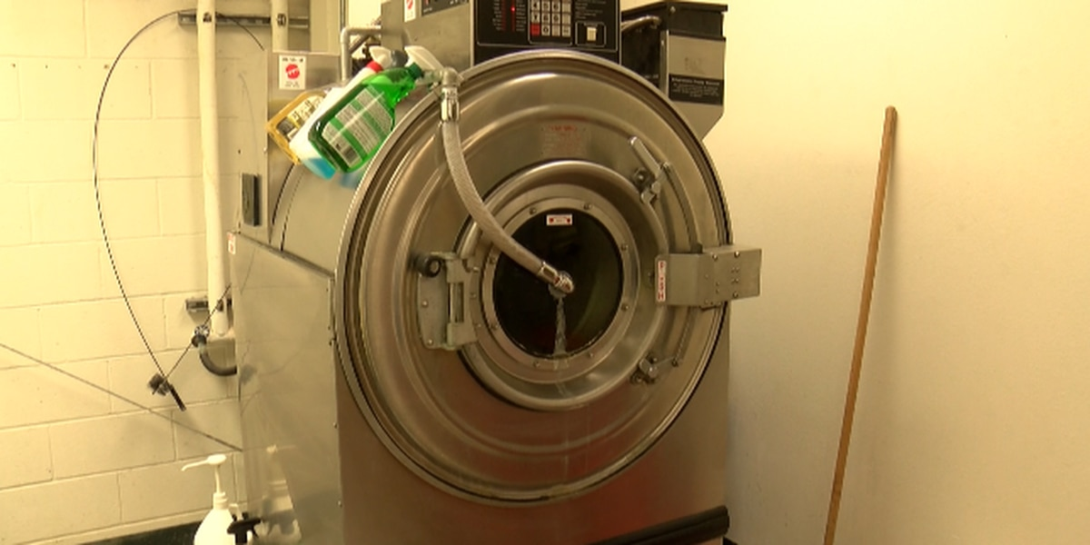 Specialized washing machine helps firefighters fight cancer