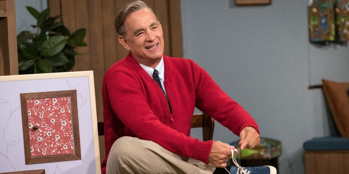 Tom Hanks finds out he's related to Mr. Rogers