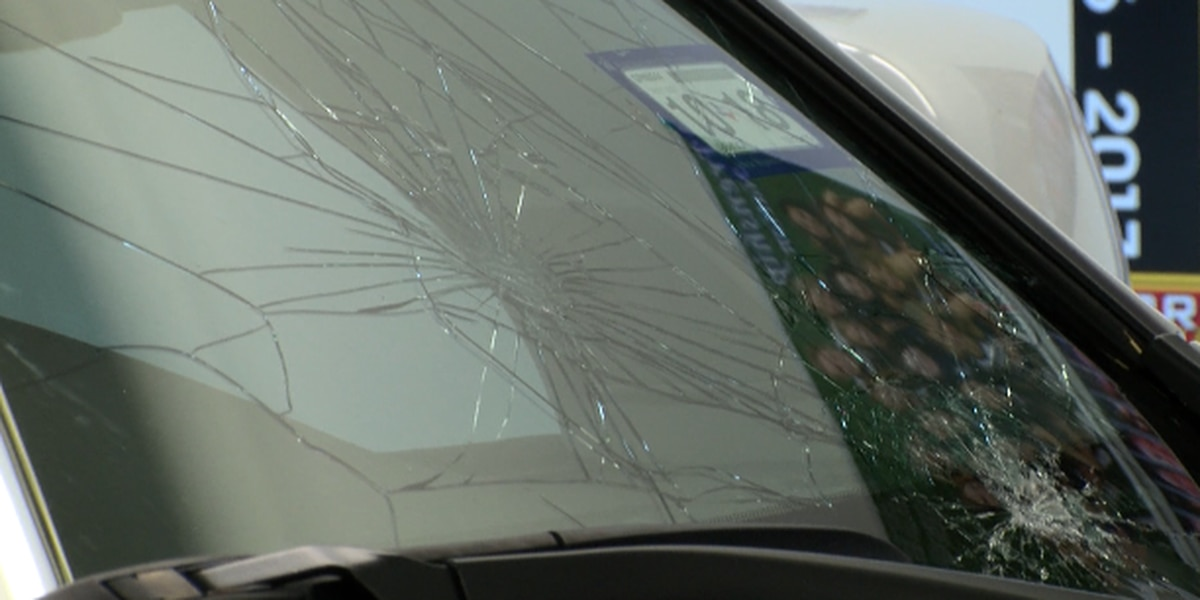 Repair shops working overtime to fix cars damaged by hail