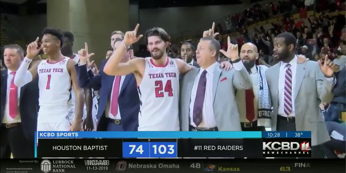 Red Raiders top Houston Baptist