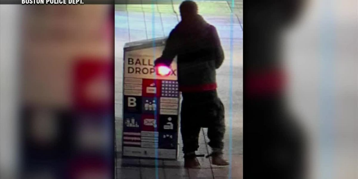 Police: Ballot drop box intentionally set on fire in Boston