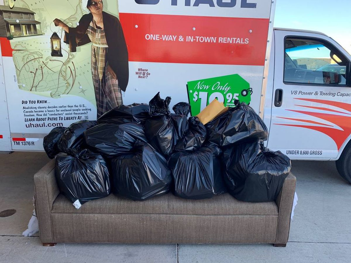 147lbs of marijuana products hidden in couch near Lubbock