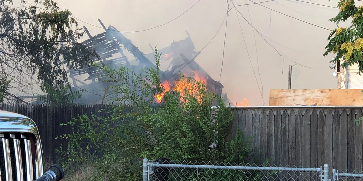 Multiple units called to fight structure fire at 23rd & S