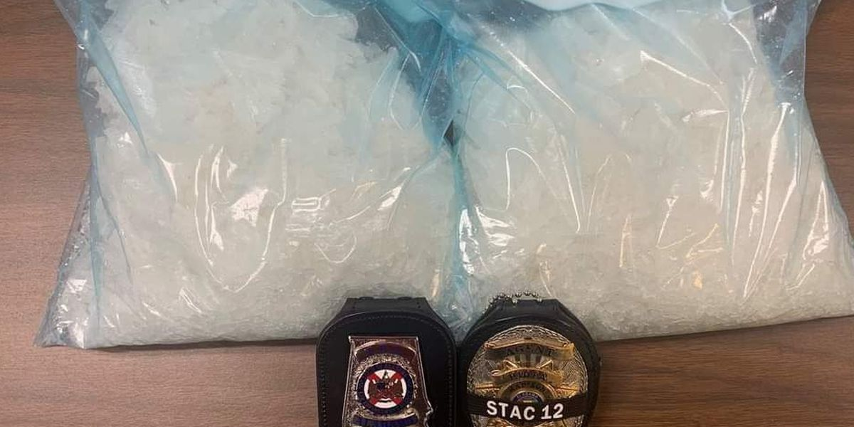 2 Lubbock men facing drug charges in Alabama, captured with 4.5 pounds of meth