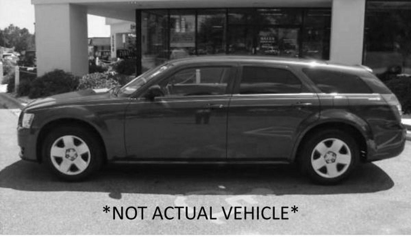Dodge Magnum NOT ACTUAL VEHICLE (Source: Lubbock Police Department)