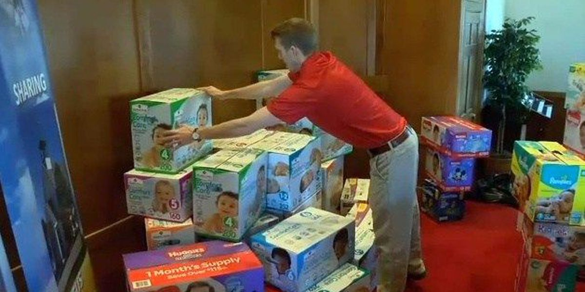 WesTex Federal Credit Union donates $4,500 worth of diapers to Texas Boys Ranch