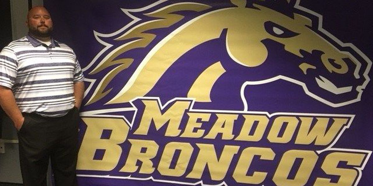 Brandon Hopper is Meadow's new Head Football Coach/AD