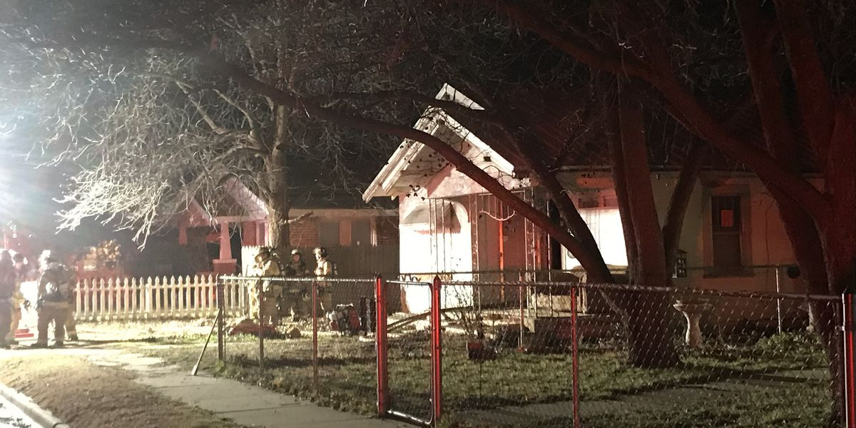 Lubbock Fire Rescue responds to central Lubbock house fire