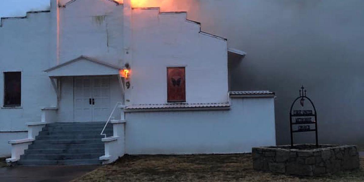 First Methodist Church in Jayton damaged in Friday morning fire