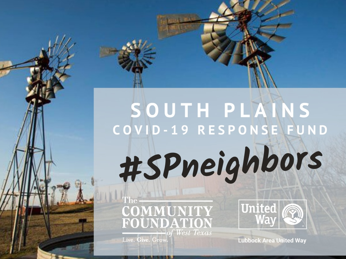 South Plains COVID-19 Response Fund: Aiding Non-Profits Tackle Coronavirus Impacts