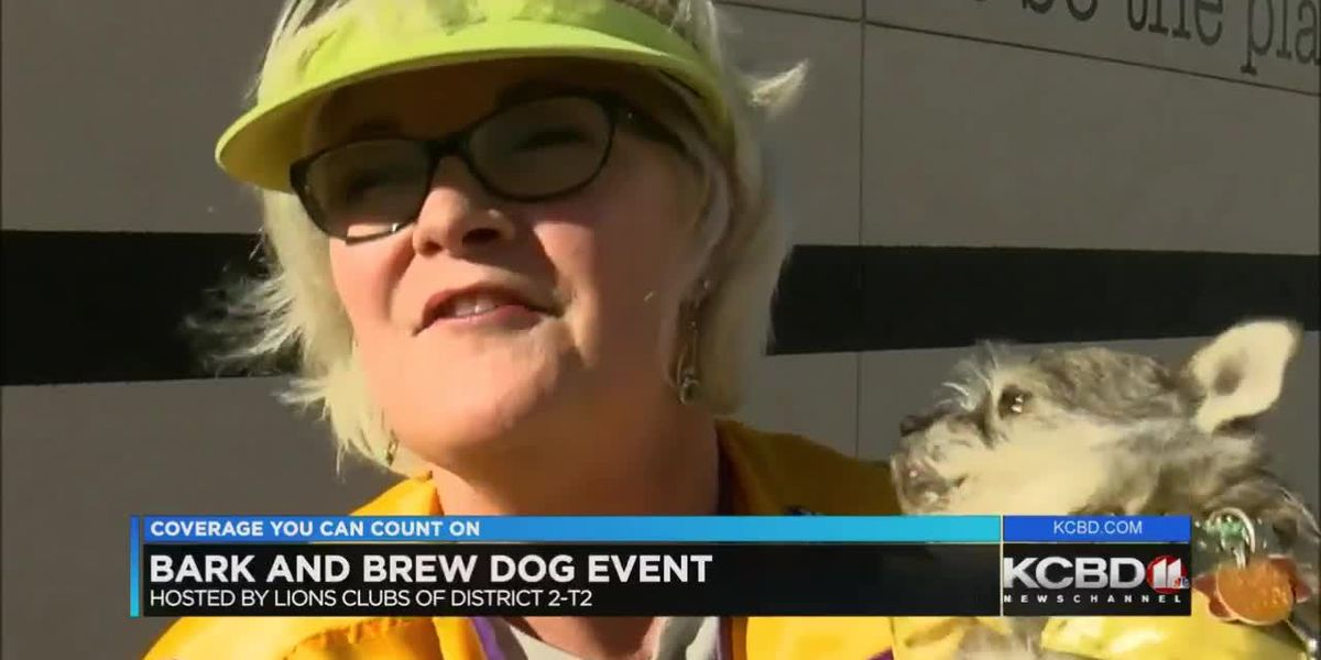 Bark and Brew event