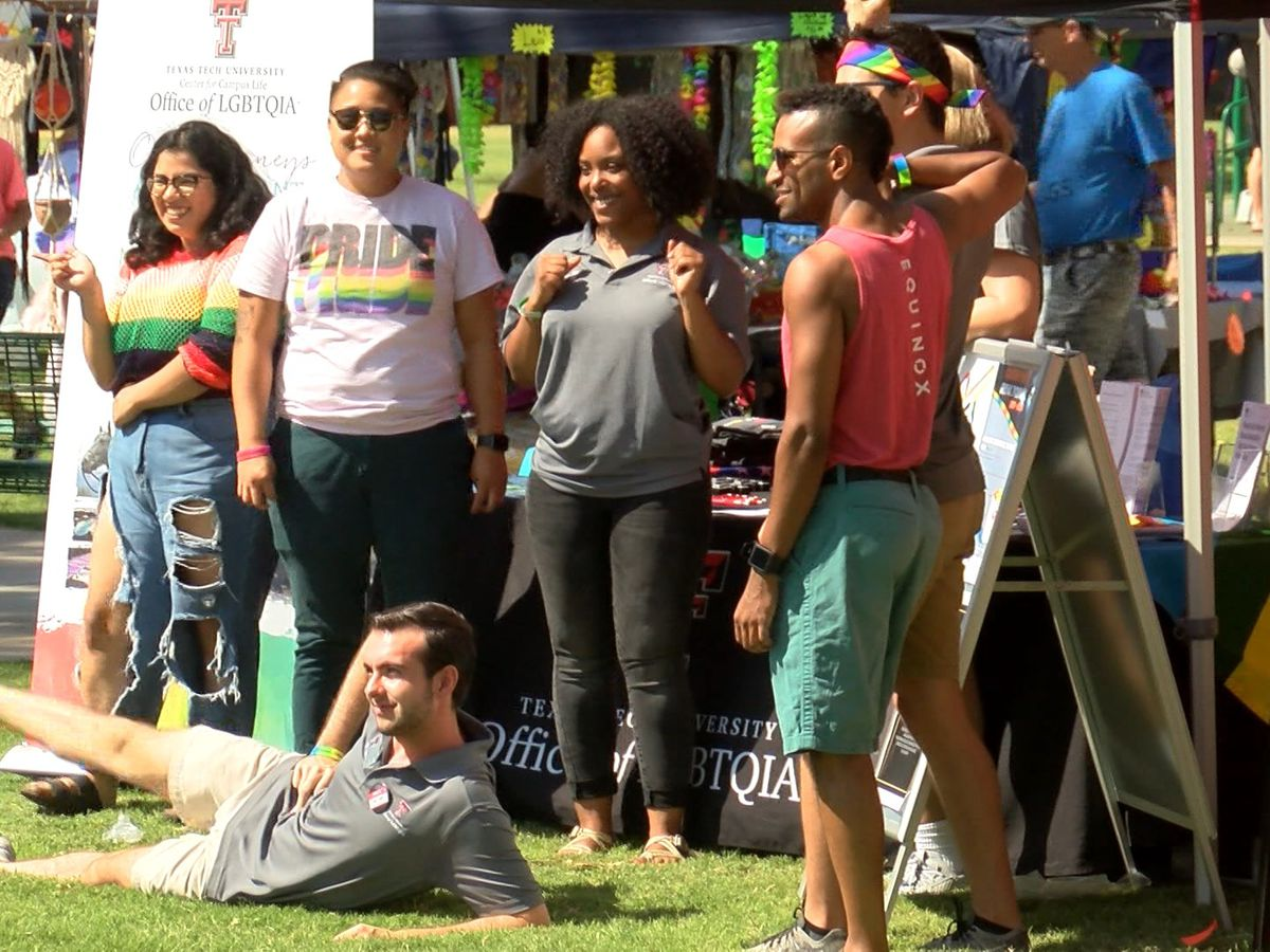 Lubbock showing its Pride at annual LGBTQIA festival