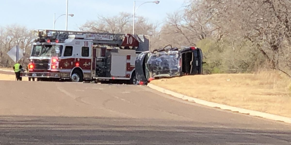 LPD, Fire Rescue respond to rollover on Canyon Lakes Drive