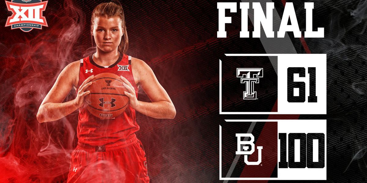 Lady Raiders fall in Big 12 Tournament