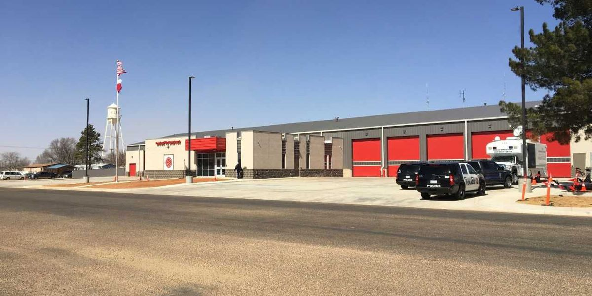 Levelland debuts new fire station, communications center
