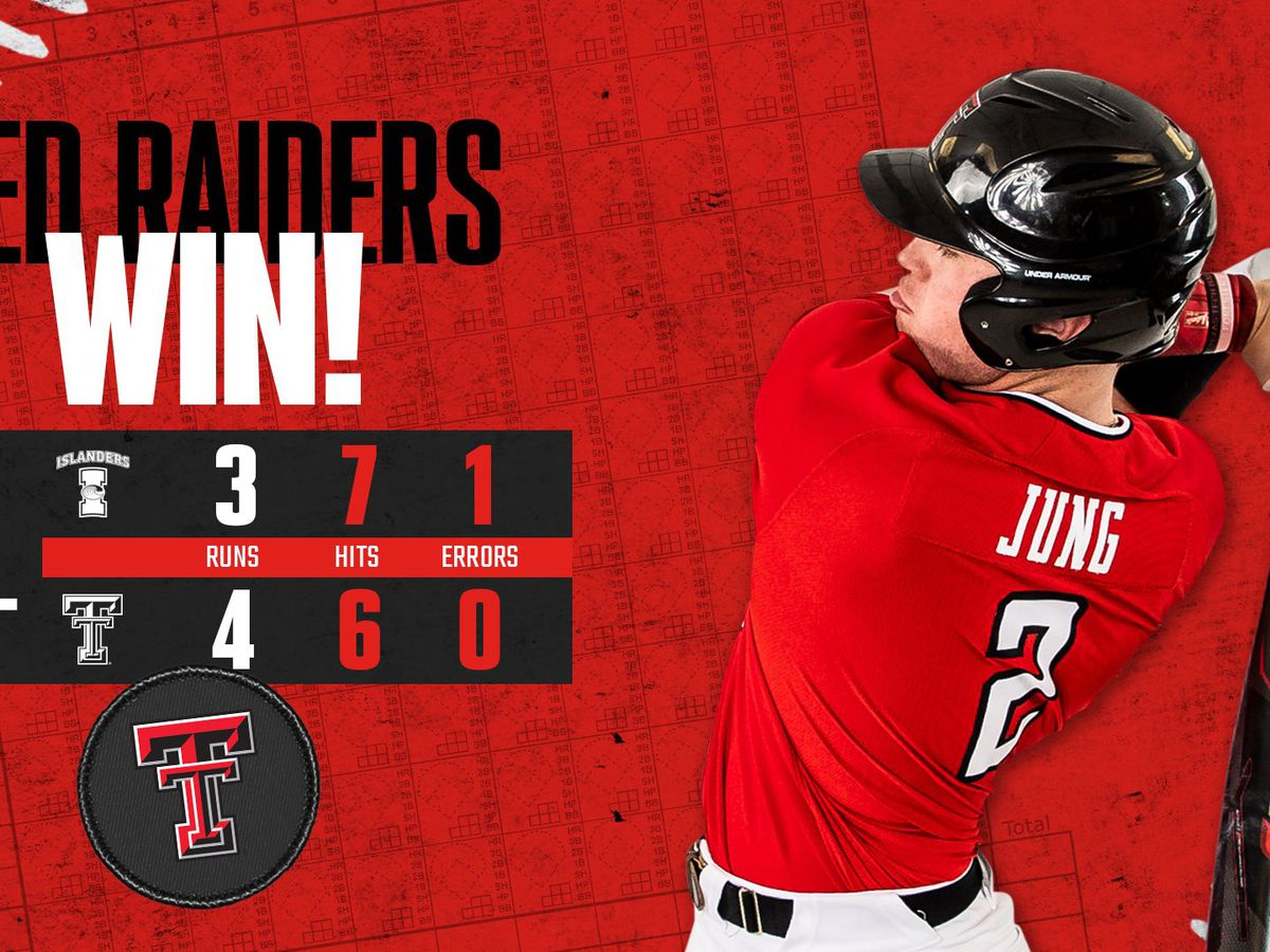 #10 Red Raiders edge Texas A&M-Corpus Christi