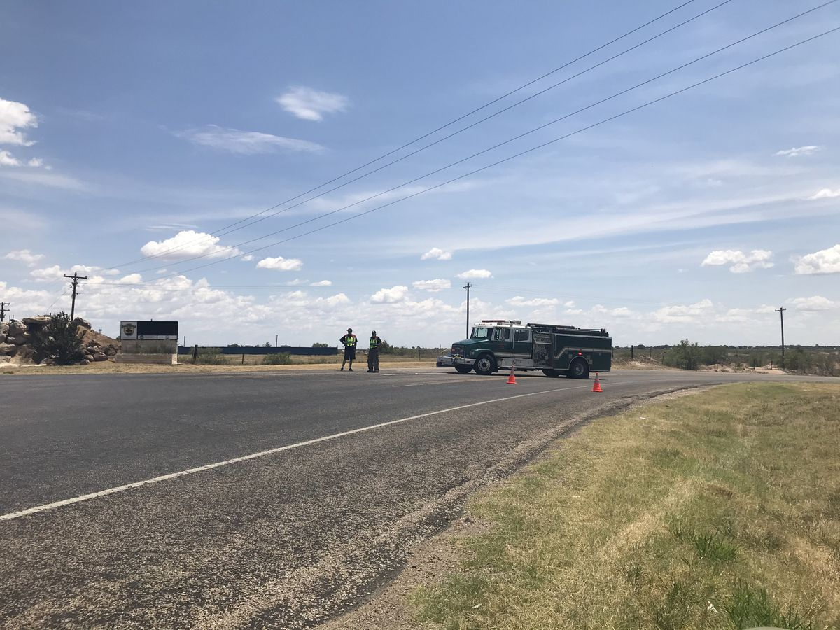 Motorcycle rider killed in Sunday morning crash near Buffalo Springs Lake