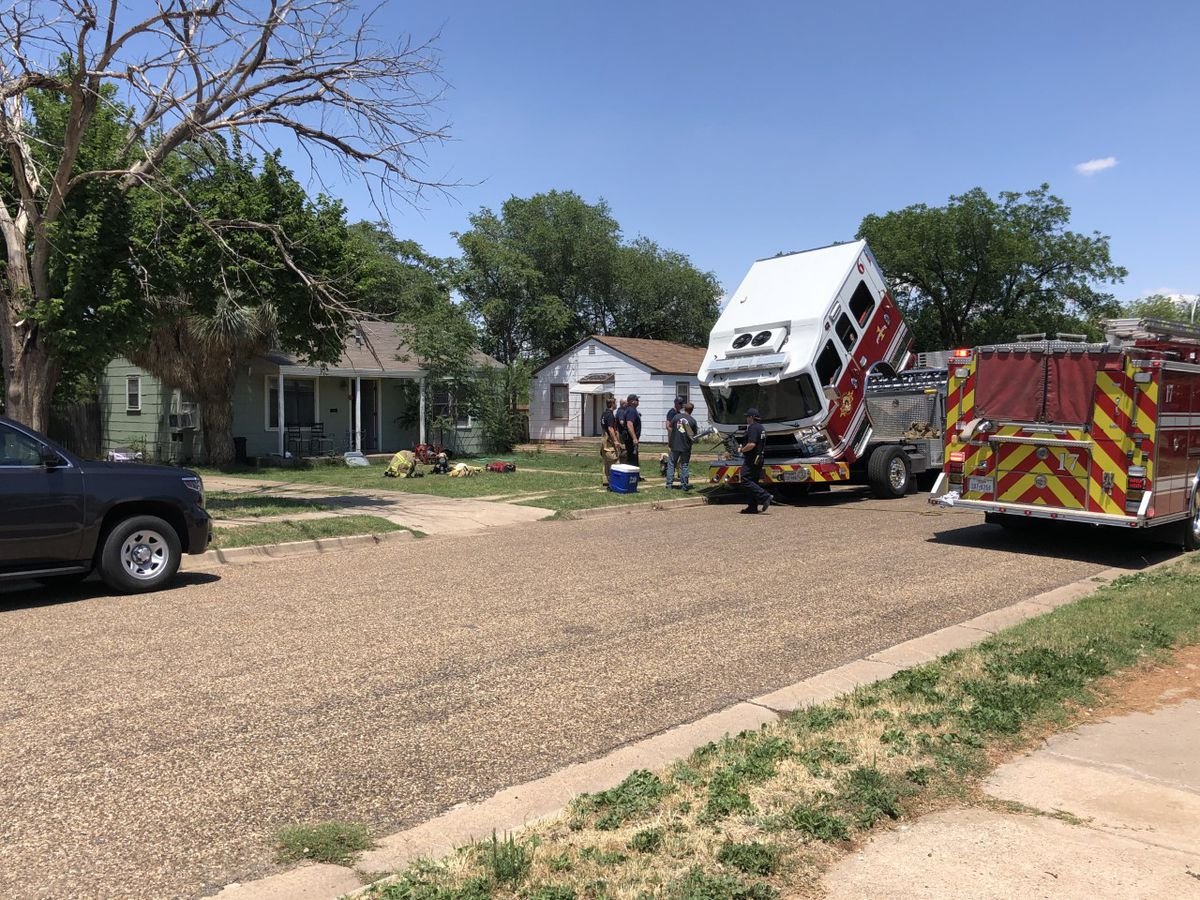 1 injured in Friday afternoon house fire