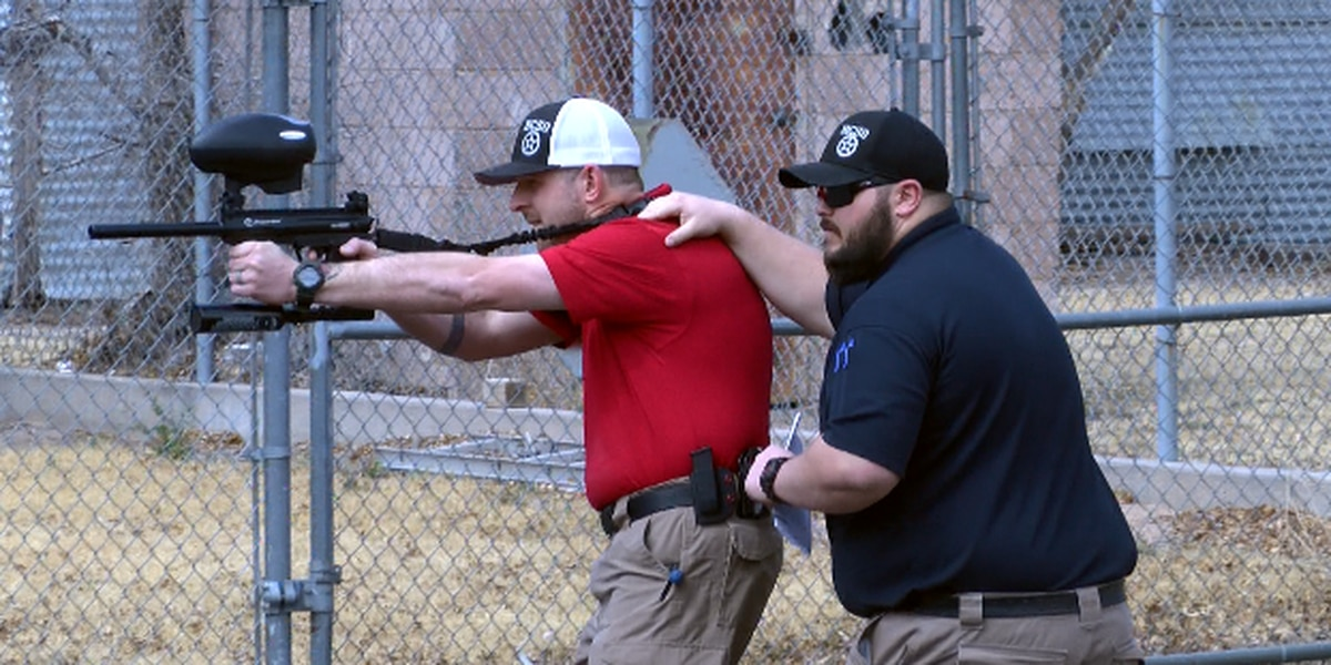Hockley County deputies train with pepper ball guns