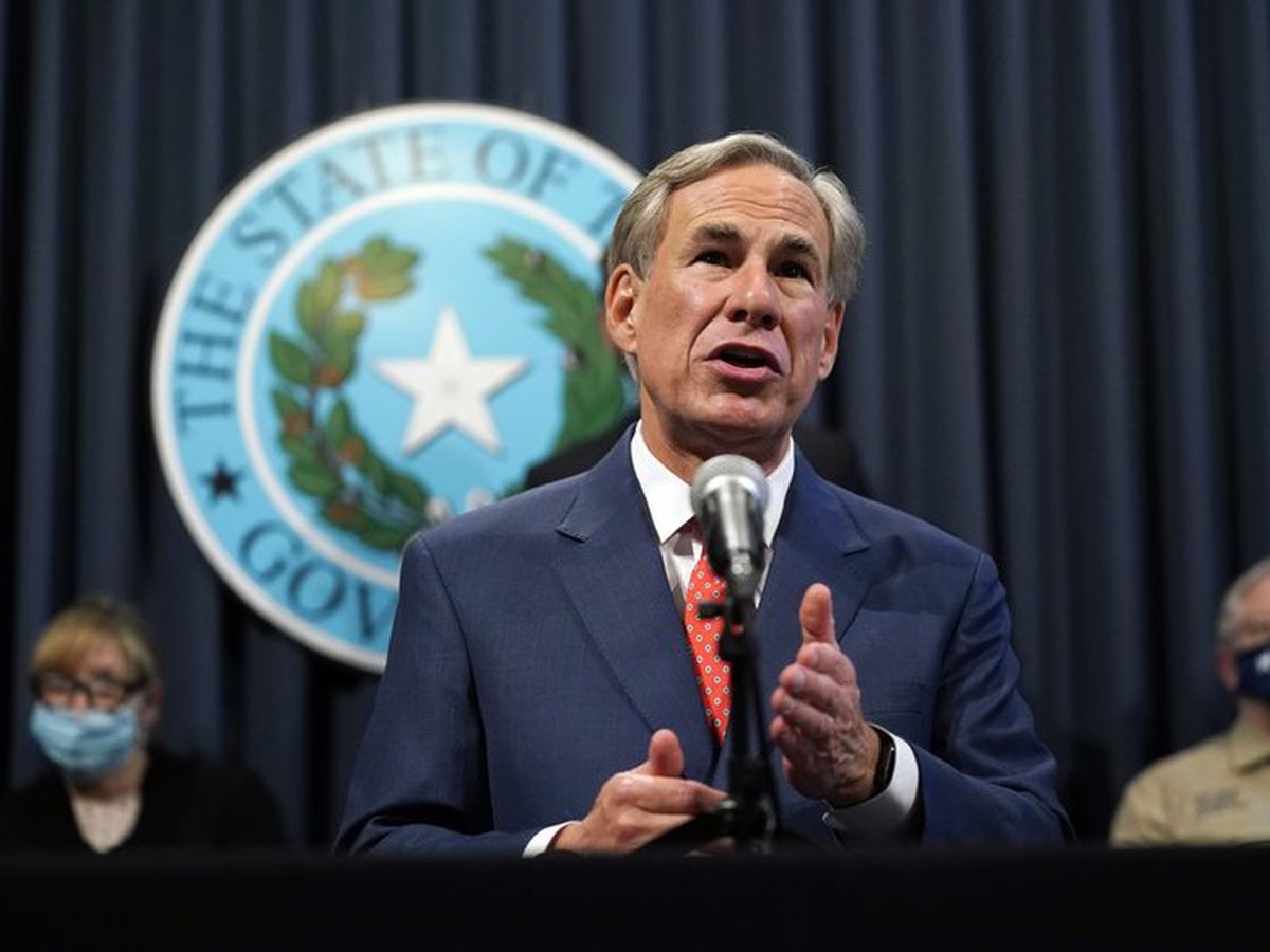 WATCH LIVE: Gov. Abbott statewide address on recent power outages Feb. 24 at 6 p.m.