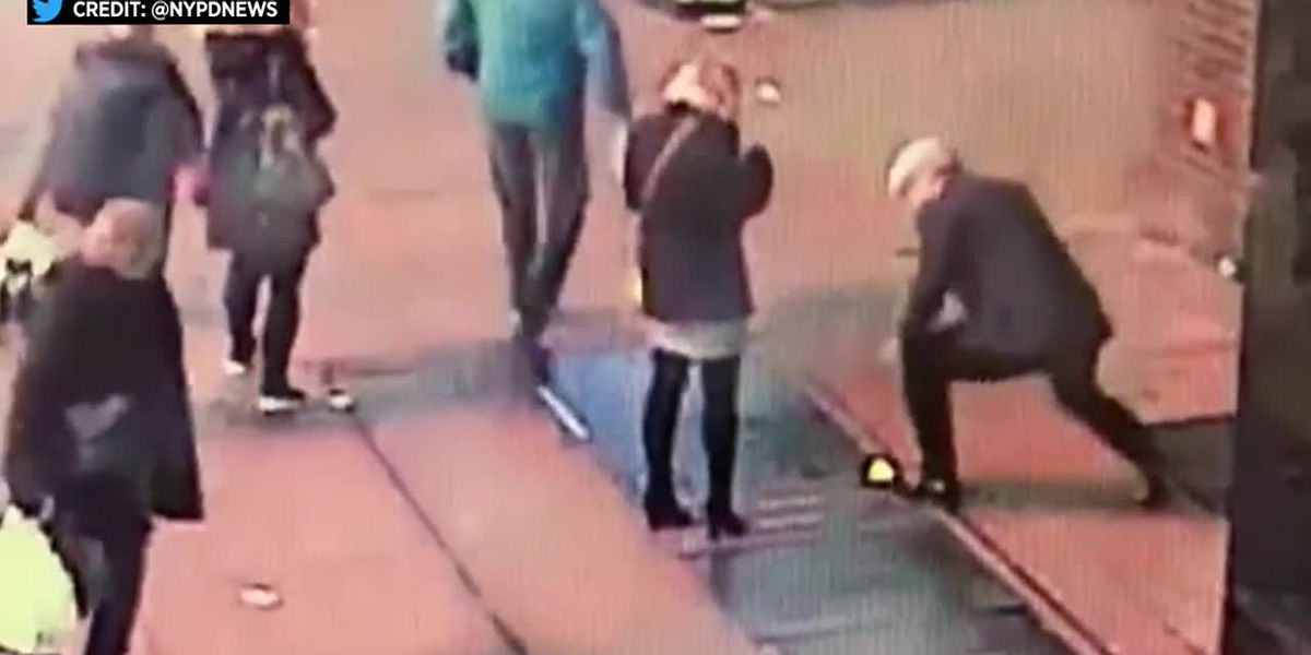 Couple thanks NYPD for finding engagement ring dropped down grate