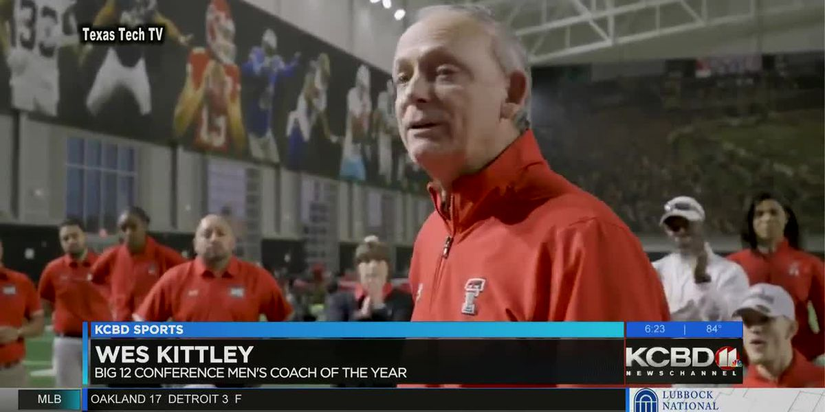 Wes Kittley Big 12 Coach of the Year
