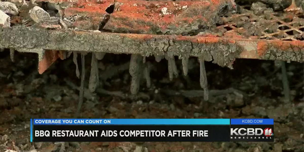 BBQ restaurant aids competition after fire