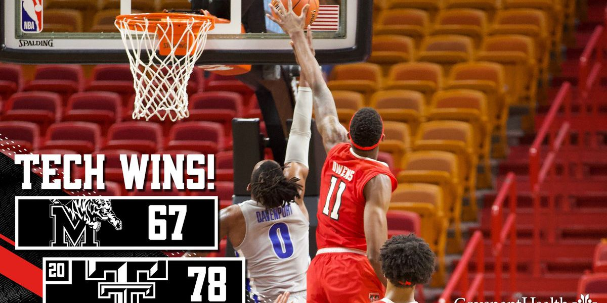 Red Raiders battle back to beat Memphis