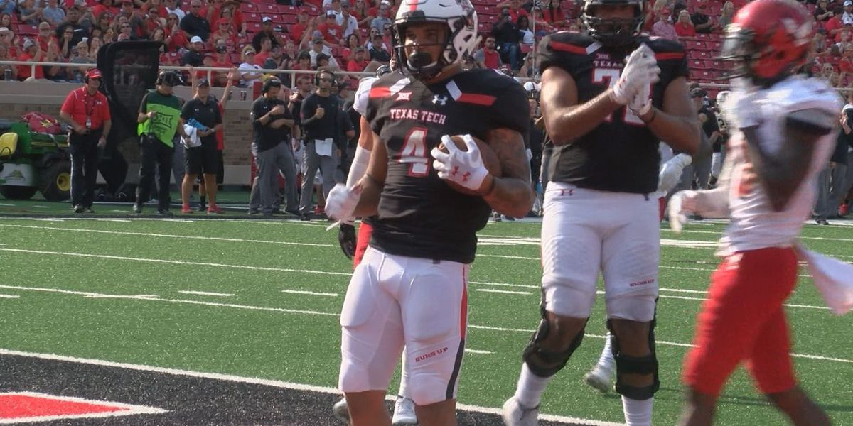 Red Raiders look to keep running the football