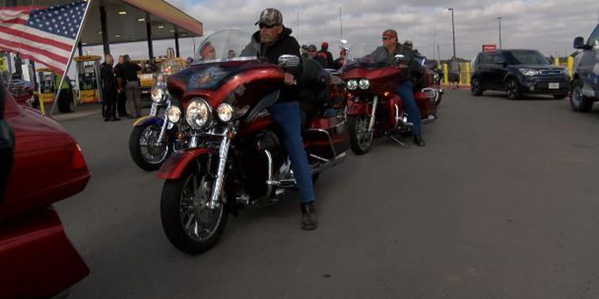 Carrying the Fallen: Group escorts fallen veterans to San Antonio